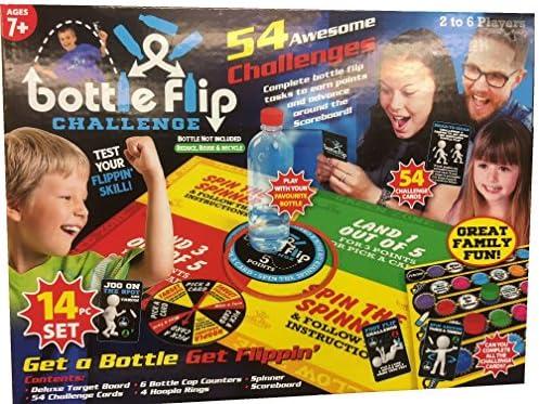 TOYLAND Juego de Tablero Bottle Flip Challenge - Diversión Familiar para 2-6 Jugadores: Amazon.es: Juguetes y juegos