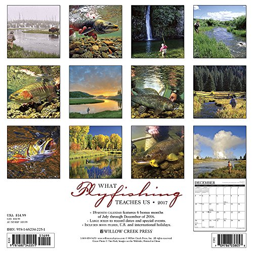 What Fly Fishing Teaches Us 2017 Wall Calendar