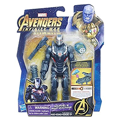 Marvel Avengers: Infinity War Marvel's War Machine with Infinity Stone: Toys & Games
