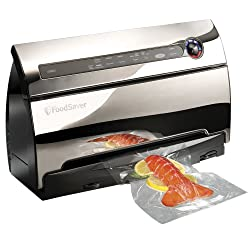Food Saver V3860 Automatic 2-Speed Vacuum Sealer with Roll Storage and Cutter