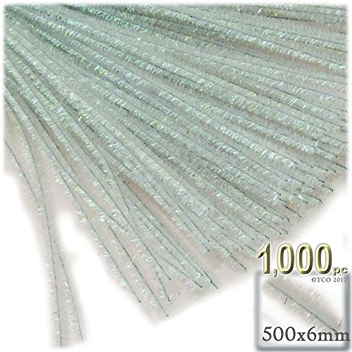 The Crafts Outlet Chenille Stems, Pipe Cleaner, 20-inch (50-cm), 1000-pc, Tan by The Crafts Outlet (Image #4)