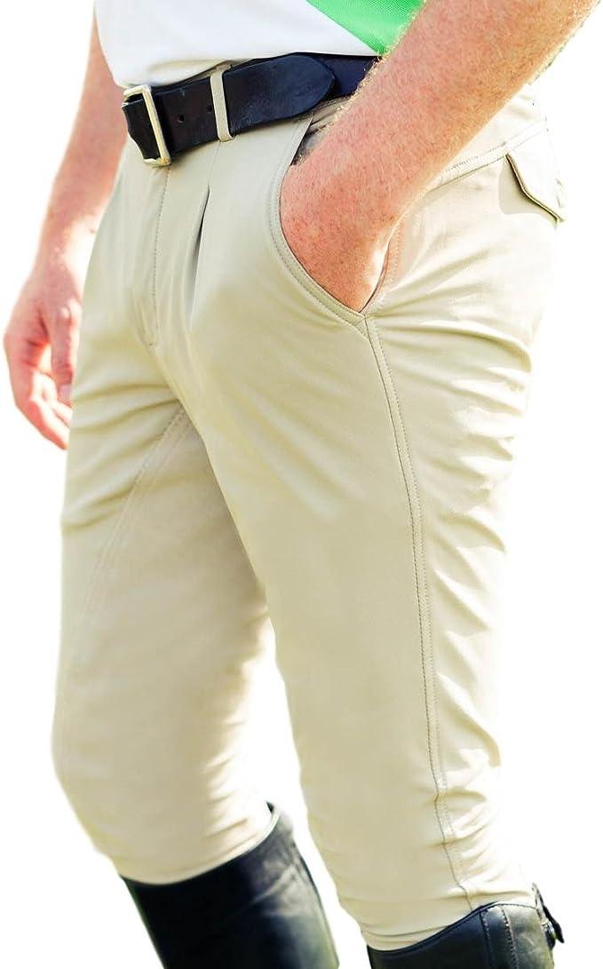 B Vertigo Mens Sanders Knee Patch Breeches