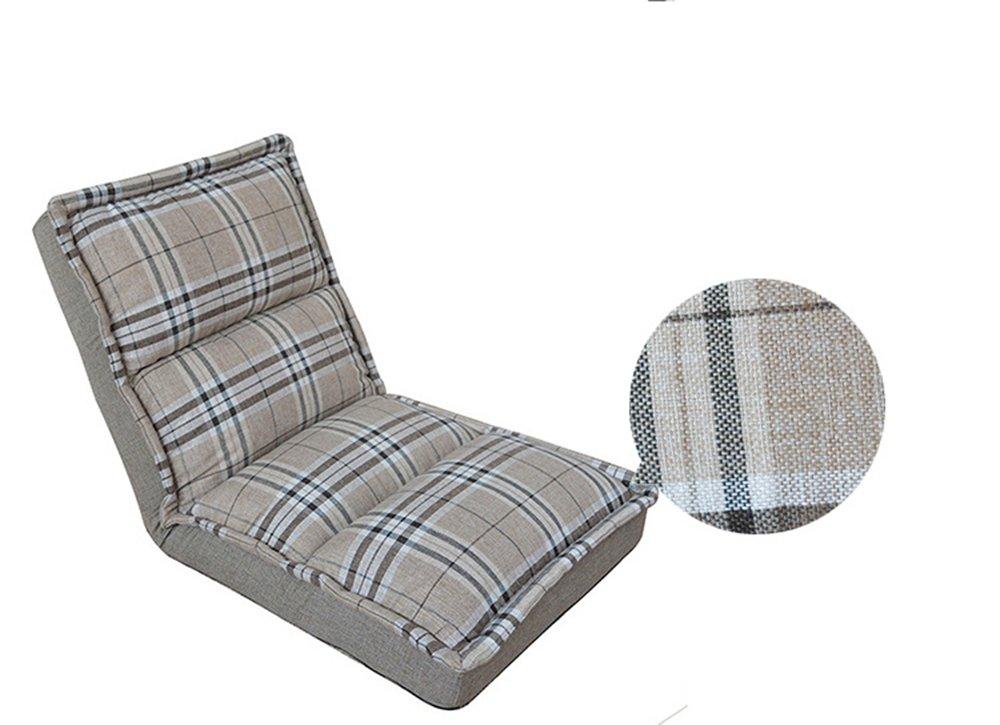 Lazy Sofa einzigen faltbaren waschbaren Schlafzimmer Balkon lesen Bett Fütterung bedfreaded Bett Stuhl