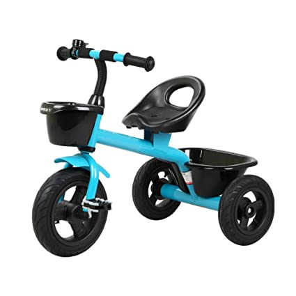 JZM Triciclo Para Niños Bicicleta Bebé Juguete Carrito De ...
