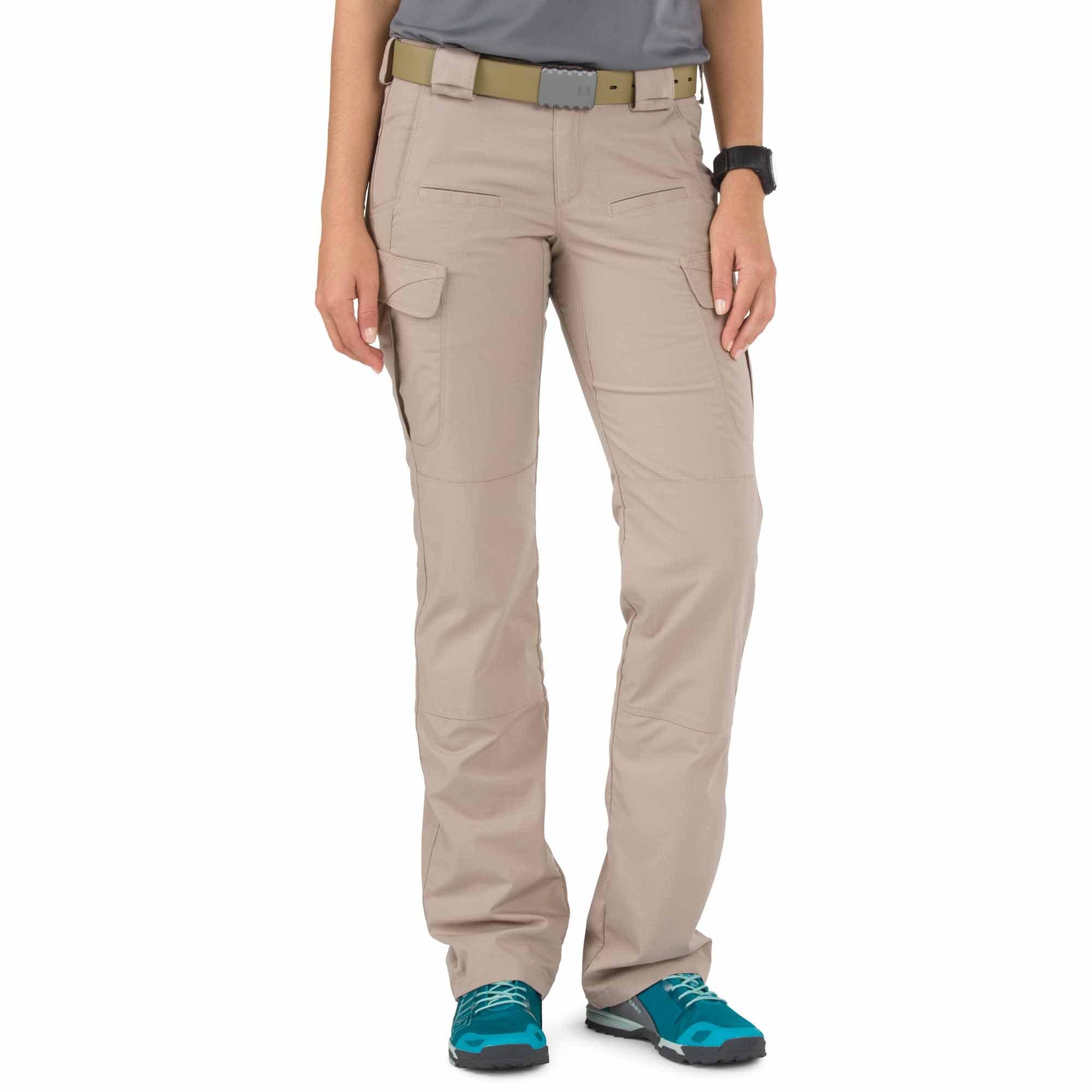 5.11 Tactical Women's Stryke Pant, Khaki, 12 R by 5.11