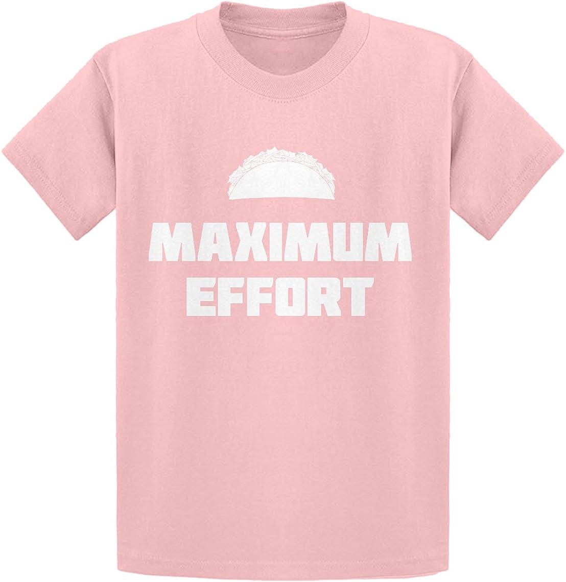 Indica Plateau Maximum Effort Taco Kids T-Shirt