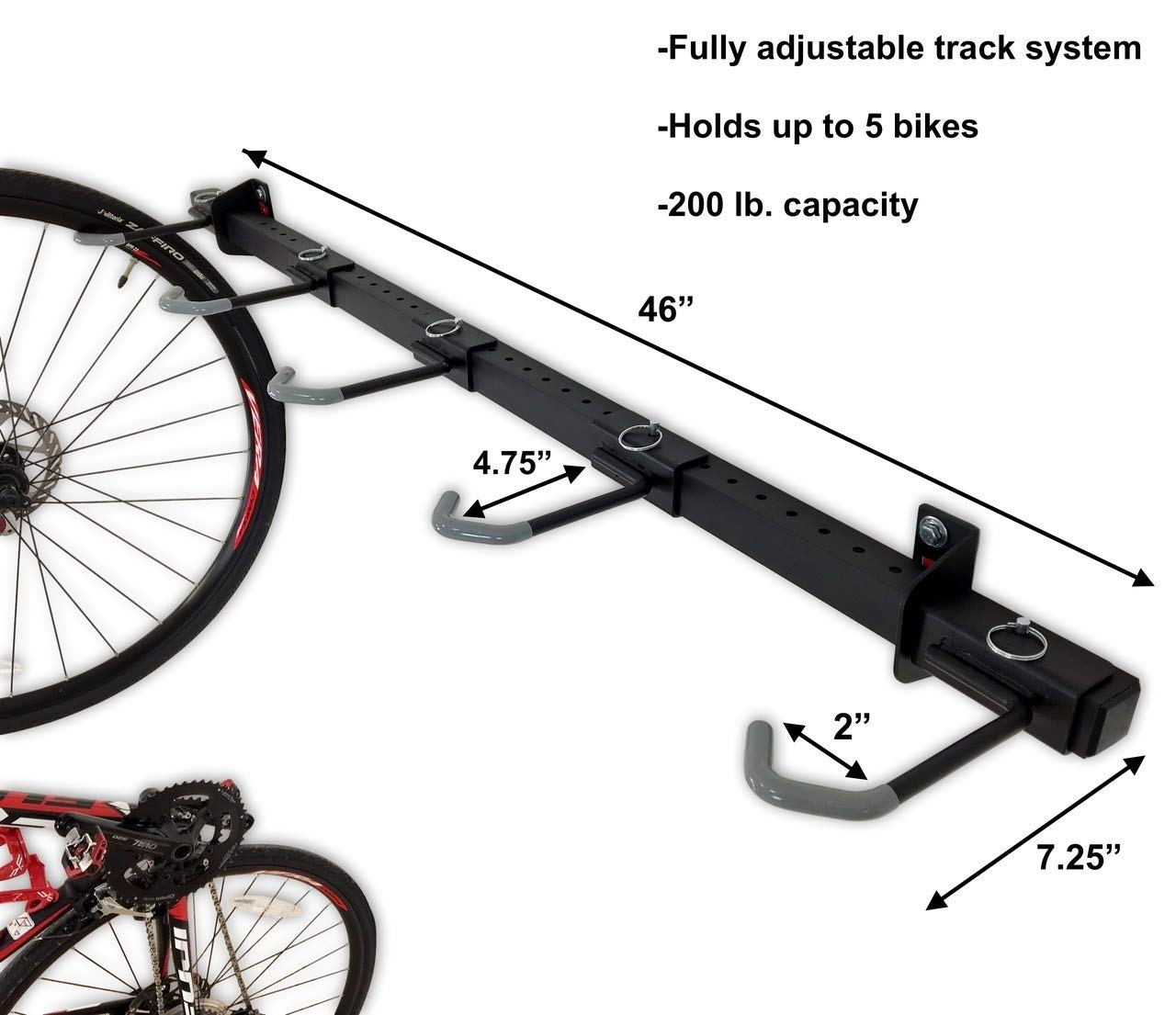 Omni Bike Storage Rack Holds 5 Bicycles Home Amp Garage
