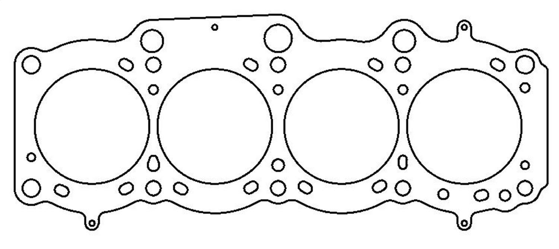 MLS; 87mm Bore; Cometic Gasket C4314-040 Cylinder Head Gasket; 0.040 in