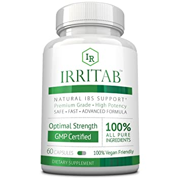 Irritab: Fast, Safe, Effective Relief from Irritable Bowel Syndrome –  Natural Digestive Enzyme