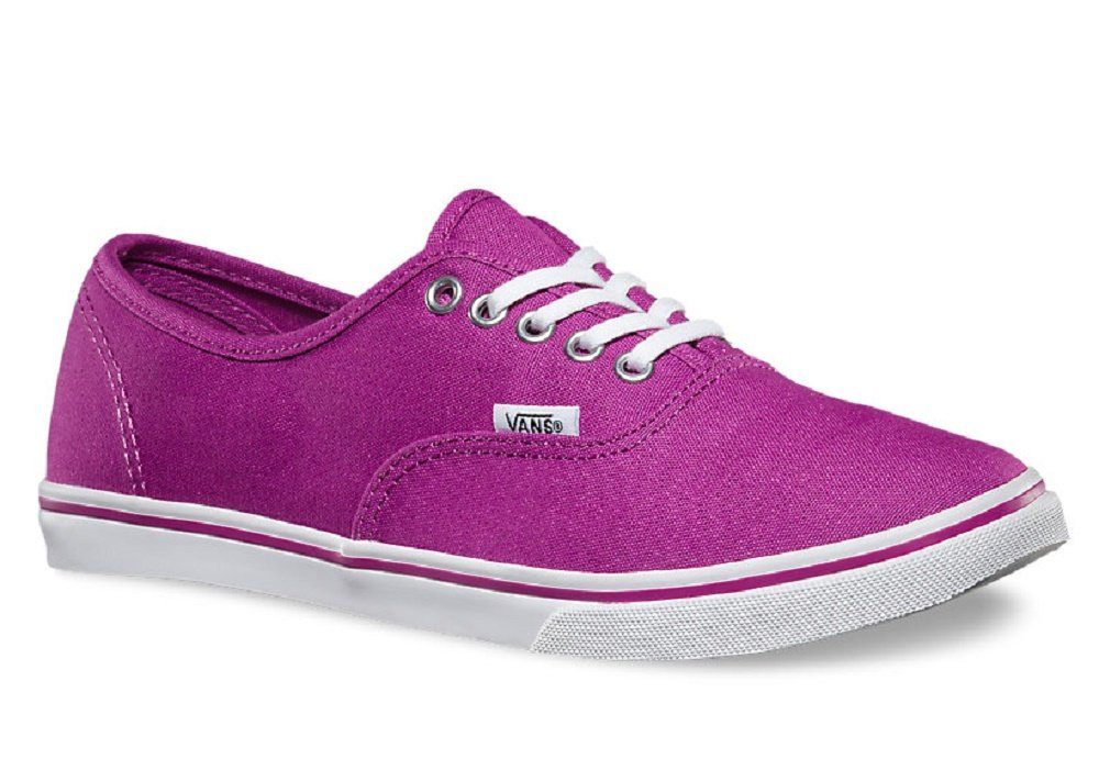 Vans - Womens Authentic Lo Pro Shoes, Size: 7.5 D(M) US Mens / 9 B(M) US Womens, Color: Deep Orchid/True White by Vans