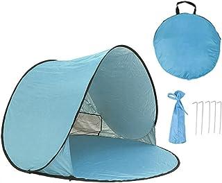 GZQ Tente Pop up Portable Cabana Bébé Tente de Plage Abri Soleil étanche Anti UV pour Jardin Camping Pêche Pique-Nique de Voyage ZQEU