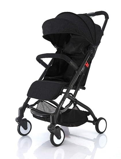 Baby Stroller Carriage Infant Newborn Reclining Folding Umbrella Canopy Footrest