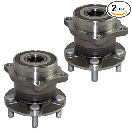 Amazon com: Pair Set Rear Wheel Hub Bearings Replacement for