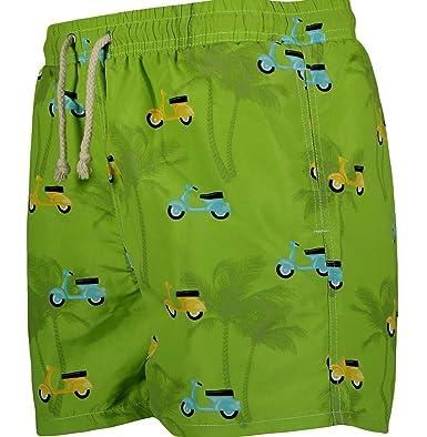 f9c6e2319c Havacoa Mens Swim Shorts Green (M=30W): Amazon.co.uk: Clothing