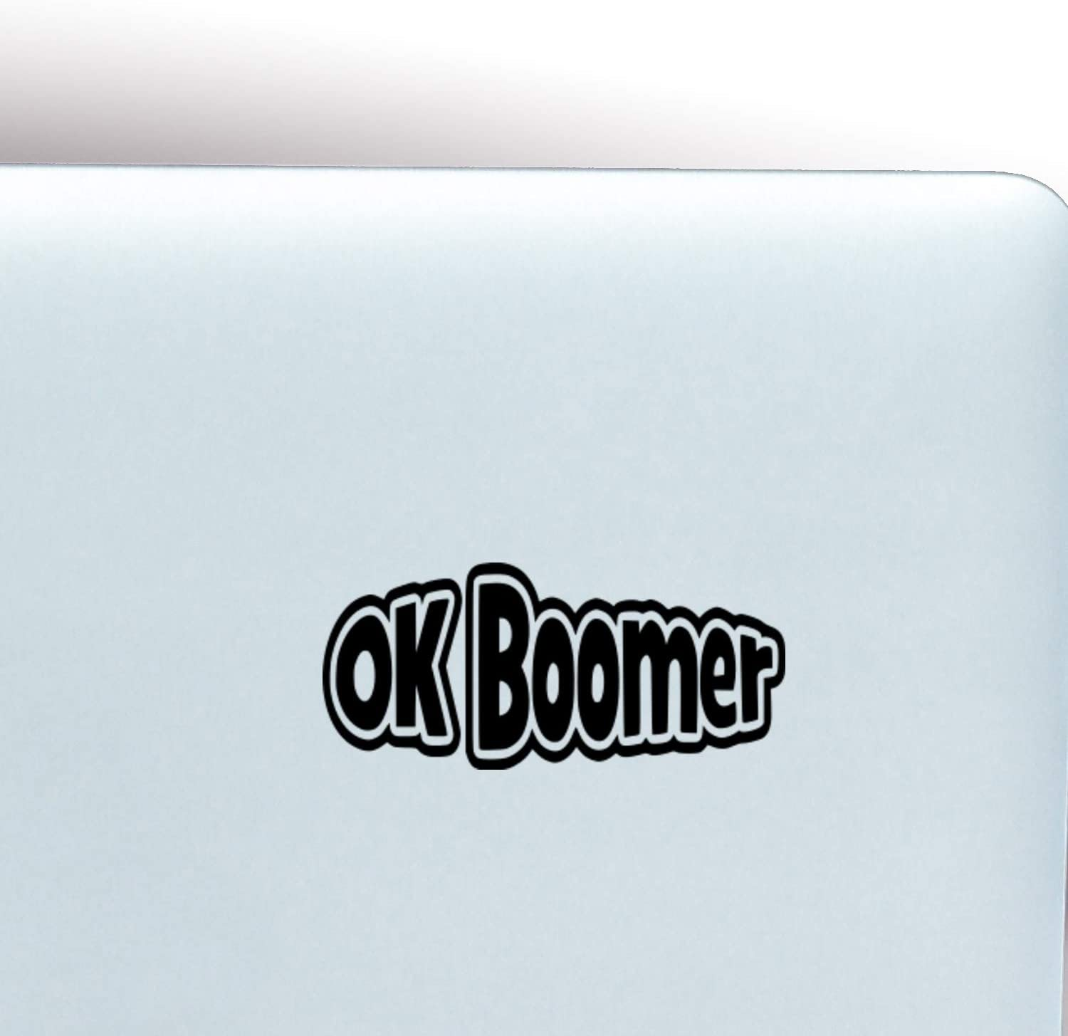 Windows and Water Bottles Color Ok Boomer Sticker for Laptops