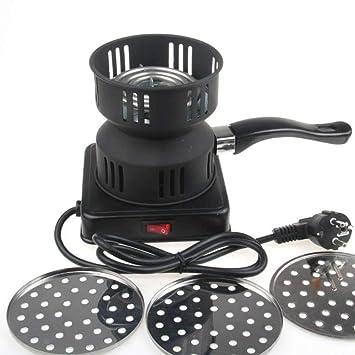 Quemador de carbón eléctrico, estufa de carbón engrosado, estufa de carbón de leña engrosada