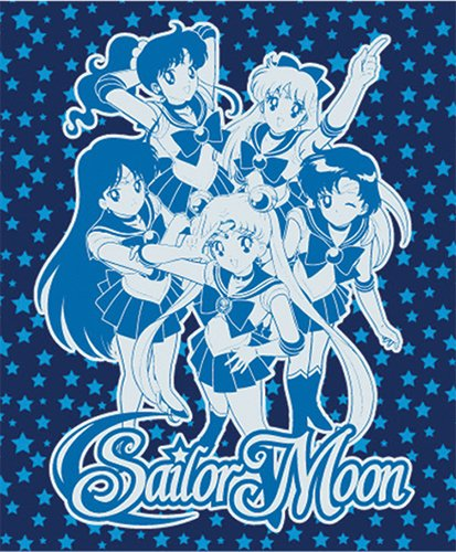 """Price comparison product image Sailor Moon: Group Throw Blanket - 50"""" X 60"""""""
