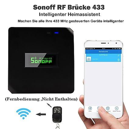 Ponte Wifi Fai Da Te.Hoar Sonoff Rf Ponte Smart Home Modulo Wifi Switch Universale