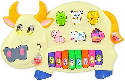 Teclado de Animales para niños Teclado de bebé Juguete Teclas ...