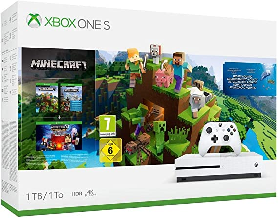 Consola S De 1 TB + Minecraft Complete Collection: Amazon.es ...