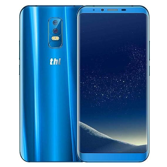 QIUQIONG TAN THL Knight 2, teléfono móvil, 4GB + 64GB, cámaras duales traseras, identificación facial y de huellas dactilares, 6.0 pulgadas Android 7.0 ...