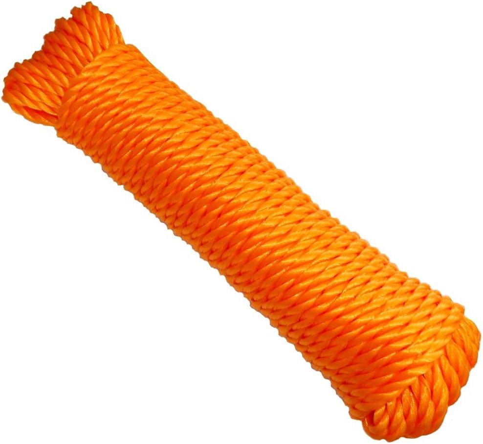 AERZETIX Bobina de cuerda para tender la ropa 7mm 20m colores variables C18614