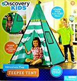Discovery Kids Green Adventure Teepee Tent