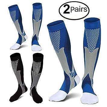 410c5a59cd 2/3Pairs Compression Socks, 20-30 mmhg Medical Sport Nursing Compression  Socks for