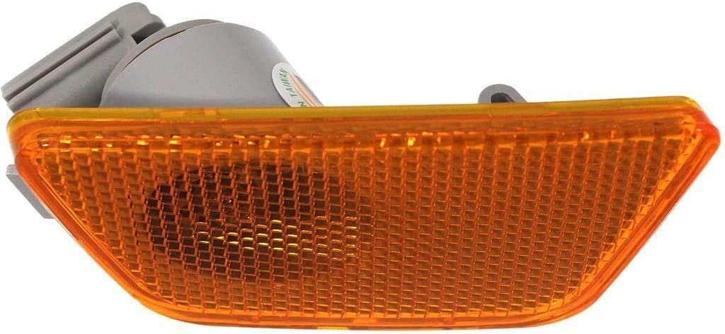 I-Match Auto Parts Left Driver Side Marker Light Assembly Replacement for 2011-2016 Chevrolet Cruze GM2550198 95186926