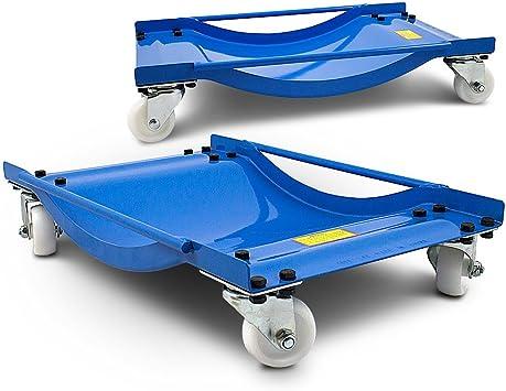 Ms Point Bituxx 2 Stück Rangierhilfe Für Pkw Auto Rangierroller Rangierheber Wagenheber Roller Bis 450kg Belastbar Pro Rangierroller Auto