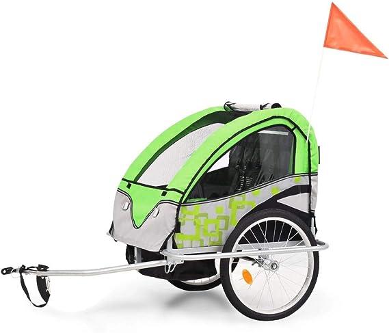 Roderick - Remolque para bicicleta 2 en 1, remolque y cochecito de ...