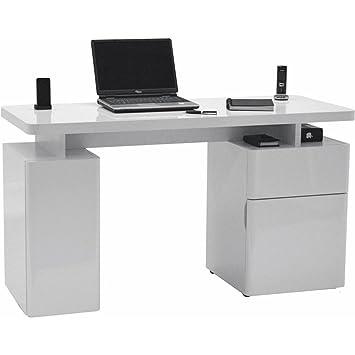 Jahnke CU-LIBRE 140 HG-WS Schreibtisch, E1 Spanplatte ...