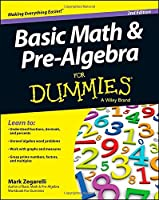 Basic Math and Pre-Algebra For Dummies, 2nd Edition Front Cover