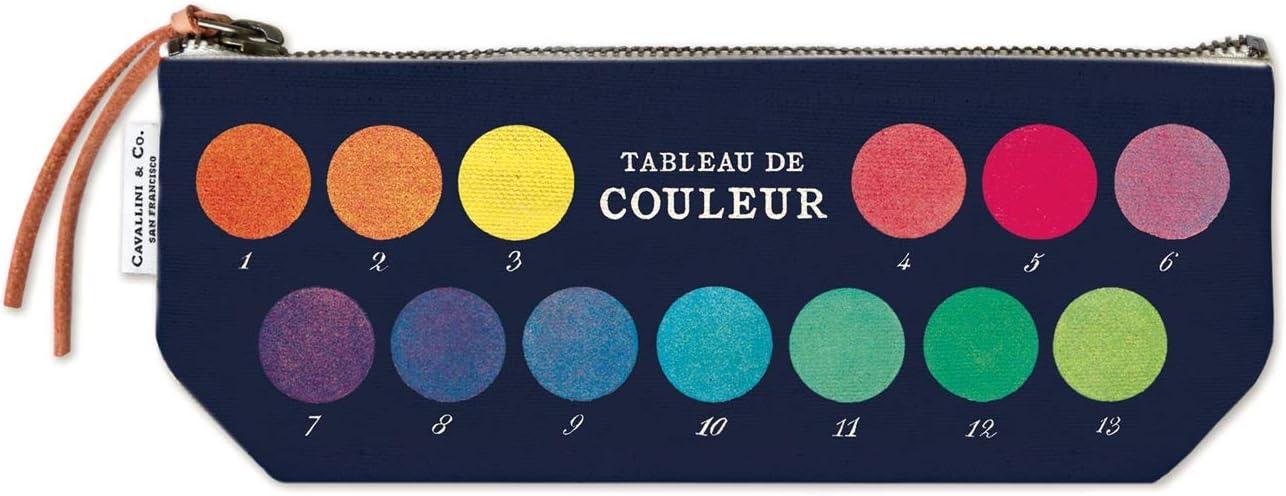 Multi Cavallini Papers /& Co Colors Mini Pouch