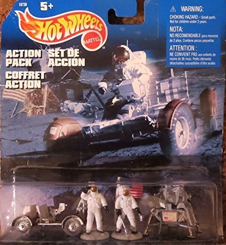 Apollo Mission 18738 Mattel Hot Wheels Action Pack