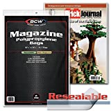 """BCW Resealable Bags for Thick Magazines 8-7/8"""" X"""