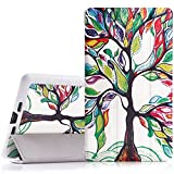Google New Nexus 7 FHD 2nd Gen Case - MoKo Ultra Slim Lightweight Smart-shell Stand Case with Auto Wake / Sleep for Google Nexus 2 7.0 Inch 2013 Generation Android 4.3 Tablet, Lucky TREE