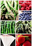 buy Organic New Bulk 3 Asparagus Seeds Survival Seeds 585+ Seeds Bonus Fruit Seeds Upc 650327337701 + 6 Plant Markers Jersey Mary Washington Raspberry Strawberry now, new 2018-2017 bestseller, review and Photo, best price $7.59