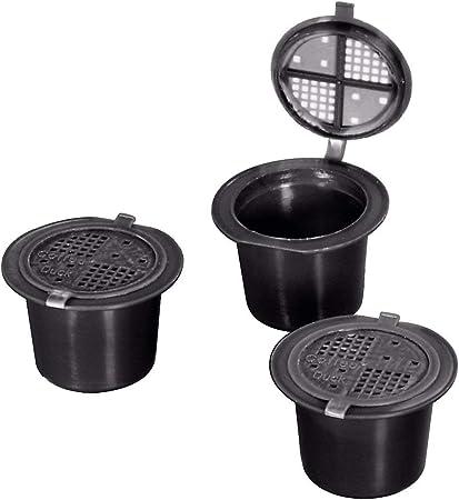 Coffeeduck Nespresso rechargeables Machine à café pod pour toutes les machines-Pack de 3