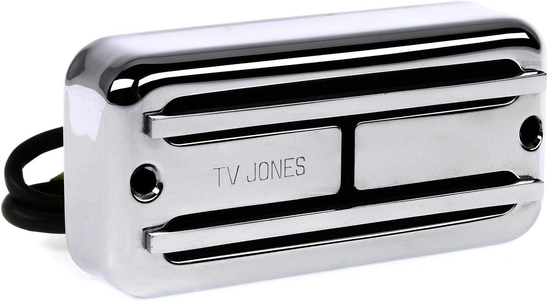 TV Jones Super Tron Pickup Neck Chrome