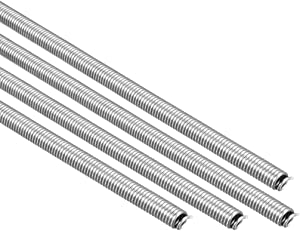uxcell Heating Element Coil Wire AC220V 3000W / AC110V 750W Kiln Furnace Heater Wire 7.2mm 800mm 4PCS