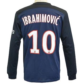 low cost d783c ea528 wholesale nike paris saint germain ibrahimovic 10 soccer ...