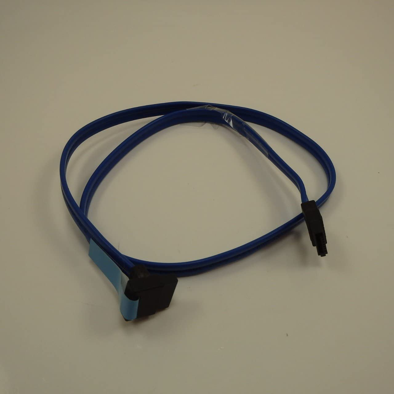 """Genuine Dell M8865 Blue 23""""-Inch Hard Drive HDD DVD CD Optical Drive Right Angle ATA Data SATA Cable, For ANY Computer System That Supports SATA Connectors, Cable Works with SATA I and SATA II Speeds Dell Compatible Part Numbers: M8865"""
