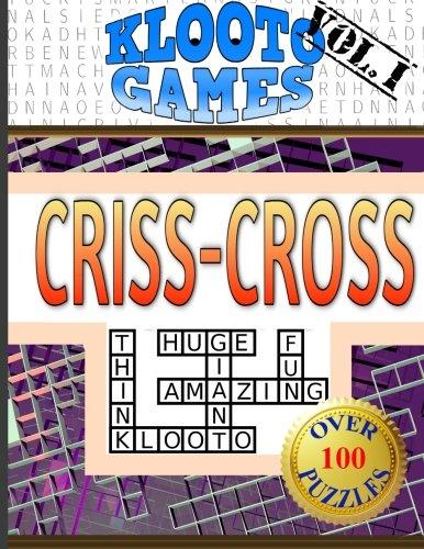 KLOOTO Games CrissCross Volume I (Volume 1)
