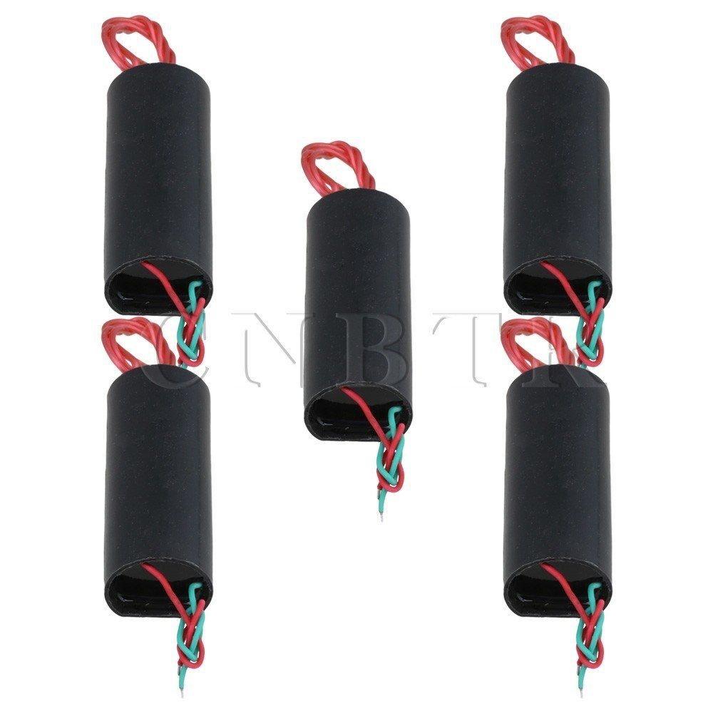 5PCS DC3.6-6V 40KV Black High-voltage Generator Boost Step-up Power Module