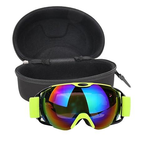 399b31b3bfac Professional Ski Goggles Double Layers Lens UV400 Anti-fog Big Ski Mask  Glasses (01