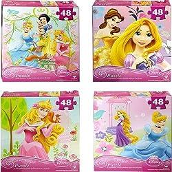 Disney Princess Assorted Puzzle 48 Pc
