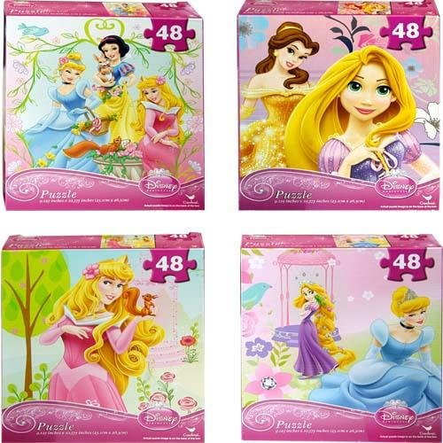 Disney Princess Assorted Puzzle 48 ()