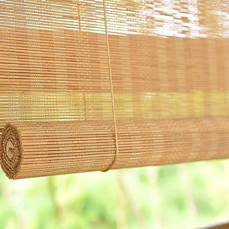Estores Enrollables Rodillo Exterior Extra Ancho con Ganchos, Sombrilla Transmisora de Luz para Balcón de Pérgola de Porche Exterior, Fácil de Instalar (Size : 60×100cm): Amazon.es: Hogar