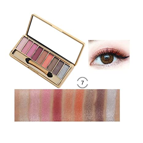 Lameila 9 Colores Paletas de Sombras de Ojos Tono de Tierra ...